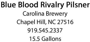Carolina Brewery Blue Blood Rivalry