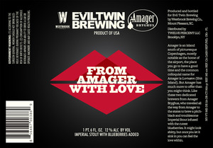 Evil Twin Brewing From Amager With Love