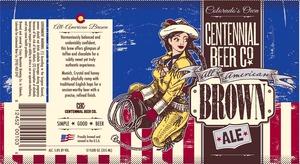 Crazy Mountain Brewing Company Centennial Brown
