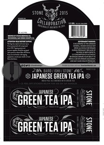 Stone Brewing Co Japanese Green Tea IPA