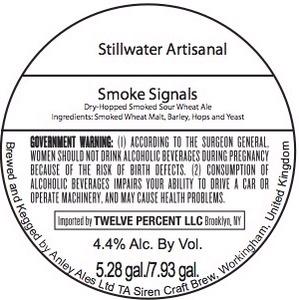 Stillwater Artisanal Smoke Signals