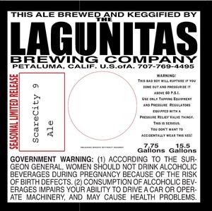 The Lagunitas Brewing Company Scare City 9