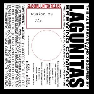The Lagunitas Brewing Company Fusion 29