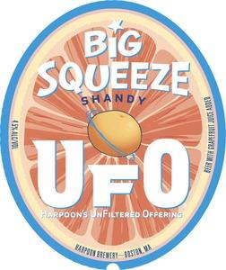 Harpoon Brewery Ufo Big Squeeze