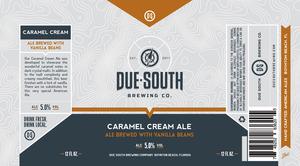 Due South Brewing Co. Caramel Cream Ale