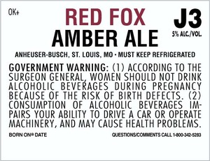 Red Fox Amber