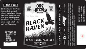 Black Raven de la brasserie Olde Hickory