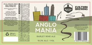 Evil Twin Brewing Anglo Mania