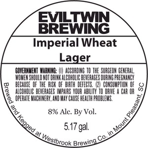 Evil Twin Brewing Imperial Wheat