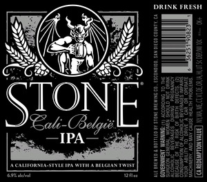 Stone Brewing Co Stone Cali-belgie IPA