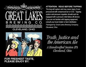 The Great Lakes Brewing Co. Truth, Justice And The American