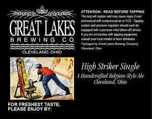 The Great Lakes Brewing Co. High Striker Single