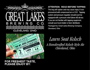 The Great Lakes Brewing Co. Lawn Seat
