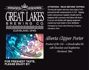 The Great Lakes Brewing Co. Alberta Clippper