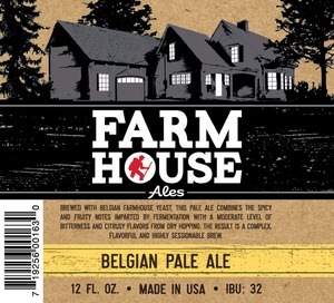 Farmhouse Ales Belgian Pale