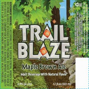 Appalachian Brewing Co Trail Blaze Maple Brown