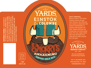 Yards Brewing Company Snorris Awakening