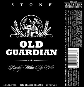 Stone Brewing Co Stone Old Guardian