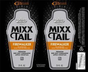 Bud Light Mixxtail Firewalker