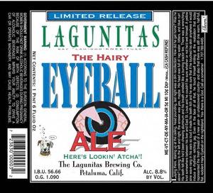 The Lagunitas Brewing Company The Hairy Eyeball