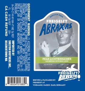 Freigeist Abraxxxas