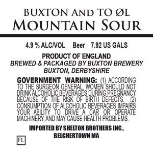 Buxton Brewery Mountain Sour