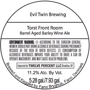 Evil Twin Brewing Torst Front Room