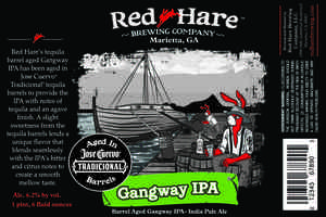 Red Hare Barrel Aged Gangway IPA