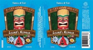 Avery Brewing Company Lilikoi Kepolo