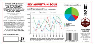 Buxton Brewery Sky Mountain Sour