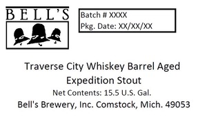 Bell's Traverse City Whiskey Barrel Aged Expedi
