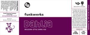 Dahlia Belgian-style Dark Ale