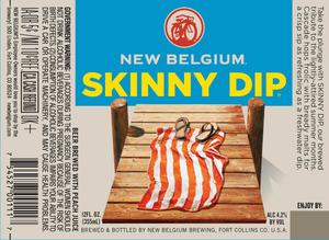 New Belgium Brewing Skinny Dip