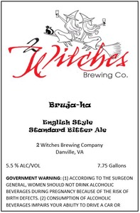 2 Witches Brewing Company Bruja-ha