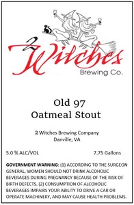 2 Witches Brewing Company Old 97