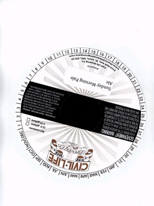 The Civil Life Brewing Co. Sunday Morning Pale Ale
