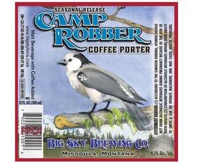 Big Sky Brewing Company Camp Robber