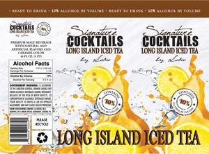 Signature Cocktails By Loko Long Island Iced Tea