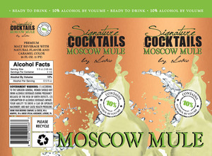 Signature Cocktails By Loko Moscow Mule