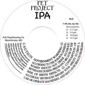 Pet Project IPA