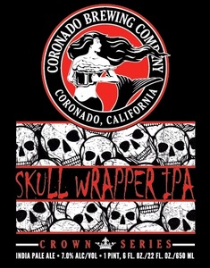 Coronado Brewing Company Skul Wrapper IPA