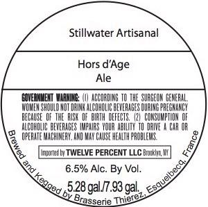 Stillwater Artisanal Hors D'age