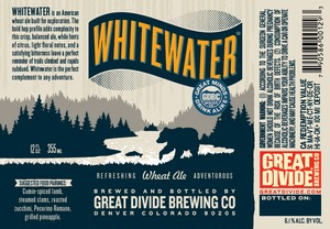 Great Divide Brewing Company Whitewater Wheat Ale