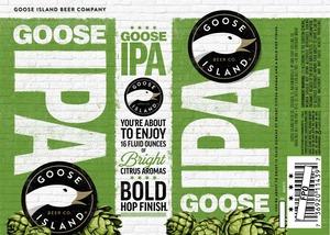 Goose Island Beer Co. Goose IPA