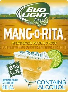 Bud Light Lime Mang-o-rita