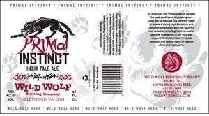 Wild Wolf Brewing Company Primal Instinct