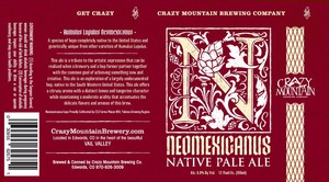 Crazy Mountain Brewing Company Neomexicanus