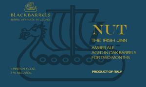 Black Barrels Nut - The Irish Jinn
