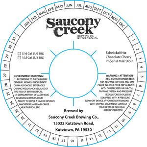 Saucony Creek Brewing Company Schnickelfritz