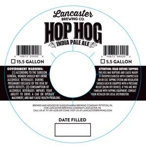 Lancaster Brewing Company Hop Hog